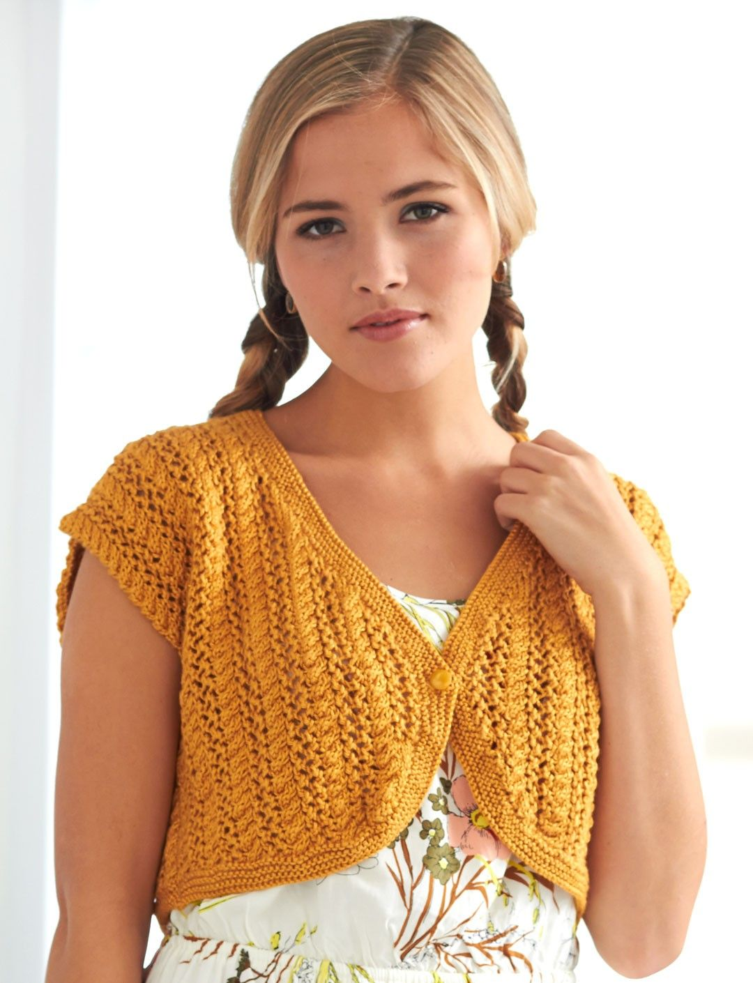 Shrug and bolero knitting patterns lace bolero bolero pattern free knitting pattern for cable lace bolero bankloansurffo Gallery