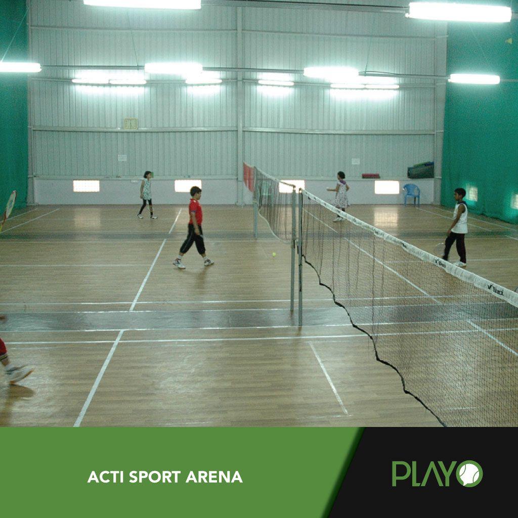 ActiSports3BadmintonCourtsBangalore Badminton court