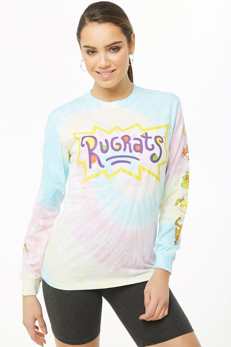 Tie Dye Rugrats Top Forever21 Tops T Shirts S Tops [ 1125 x 750 Pixel ]