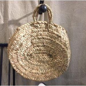 Petit Panier Rond En Osier Rattan Bag Woven Bag Basket Bag