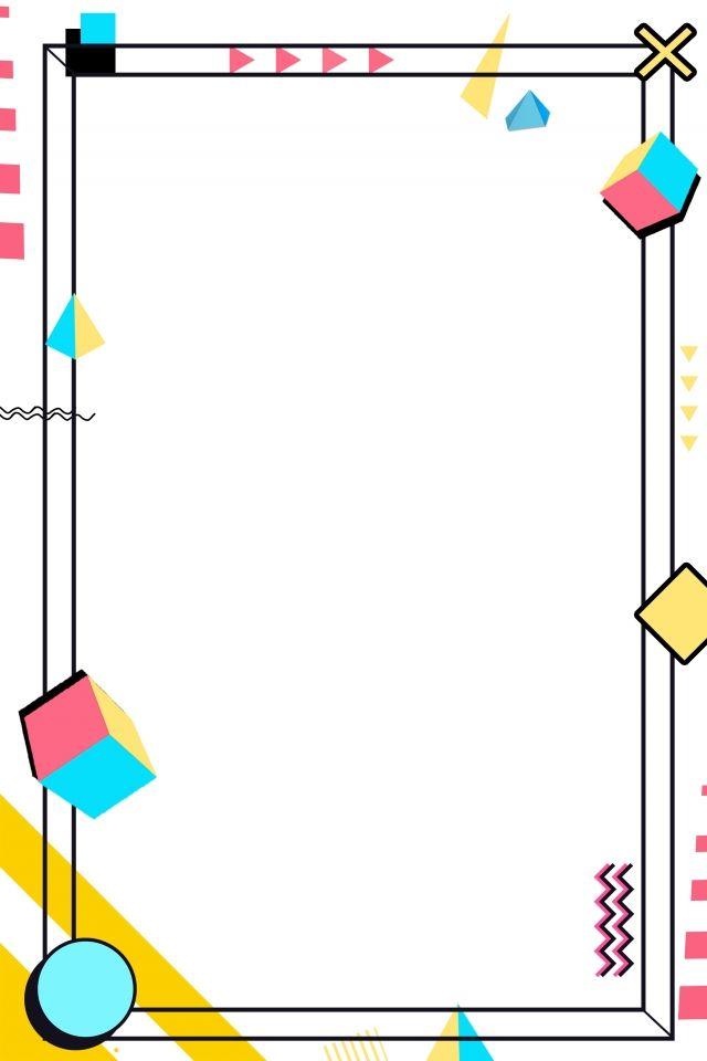 Simple Geometric Geometric Border Geometry em 2020