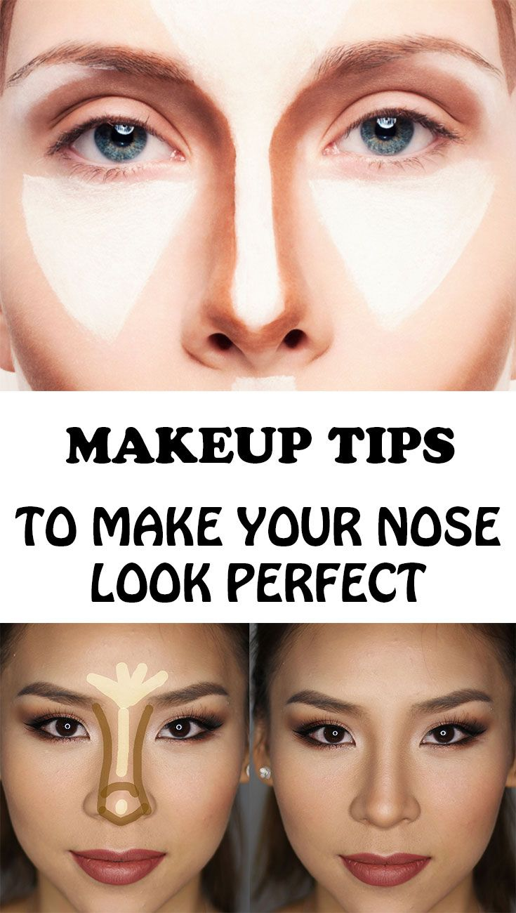 How to make your nose look slimmer without makeup