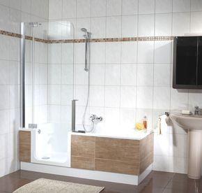 Douchen & baden in kleine badkamers, Twinline maakt een einde aan de ...