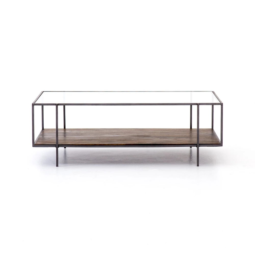 Byron Coffee Table In Aged Brown Coffee Table Modern Coffee Tables Coffee Table With Storage [ 1000 x 1000 Pixel ]