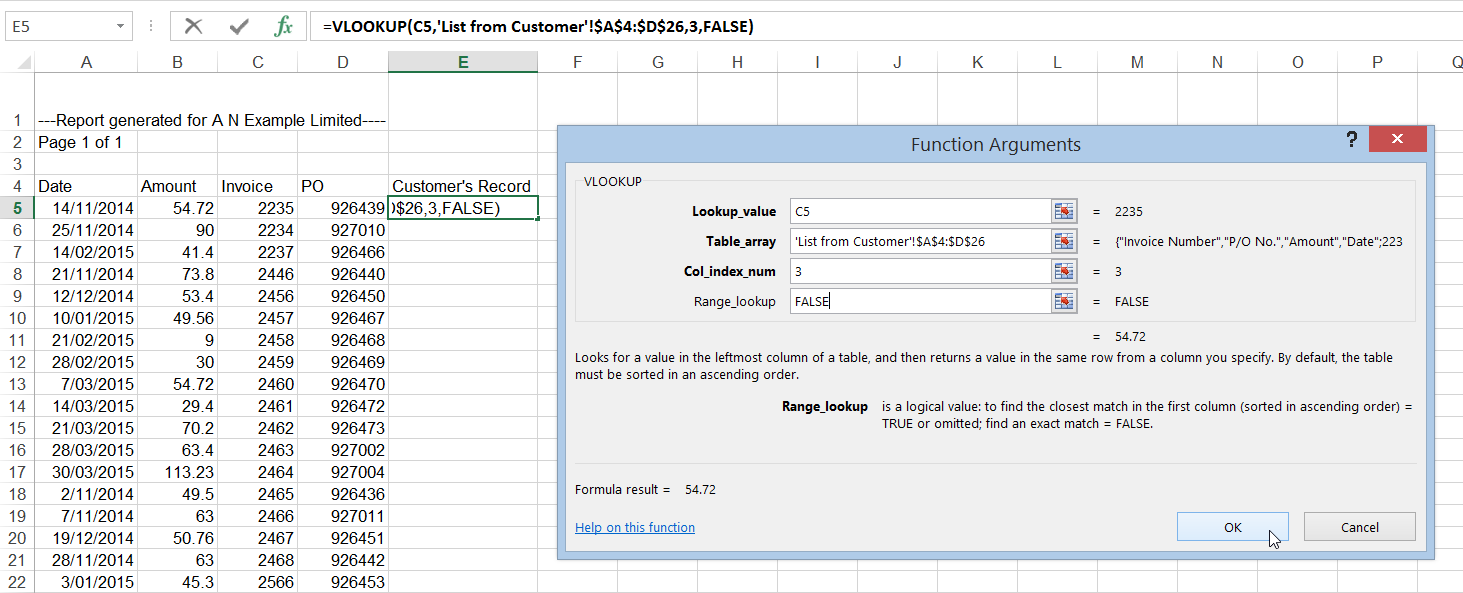 Excel Using Vlookup To Compare Two Lists Office Training Microsoft Office List