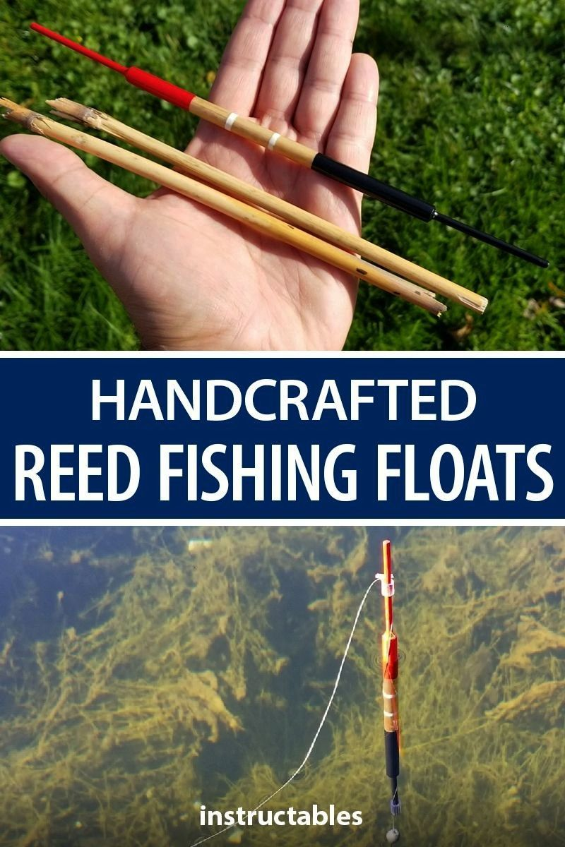 fishing floats (bobbers) doesn't require many materials and the materials, apart from reeds, are av