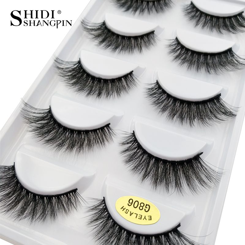 Cheap Kit Cilios Buy Quality 5 Pairs Directly From China Fake Mink