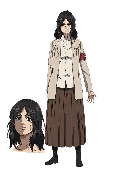 Shingeki no Kyojin: The Final Season revela los diseños de Eren, Pieck y Porco — Kudasai
