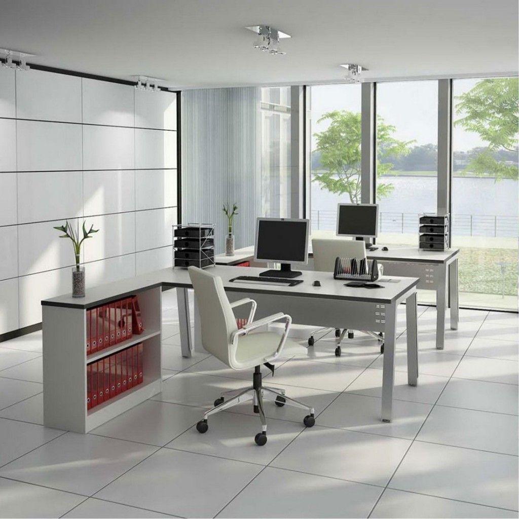 Interior White Ceramic Floor White Swivel Chair White Book Self