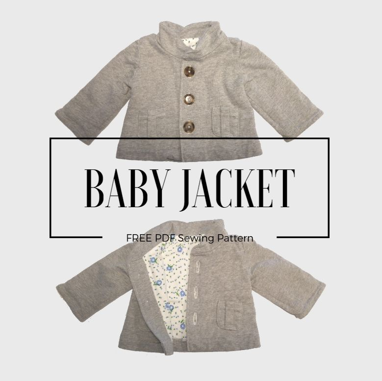 free baby jacket pattern | Inspiration till Eda | Pinterest | Jacket ...