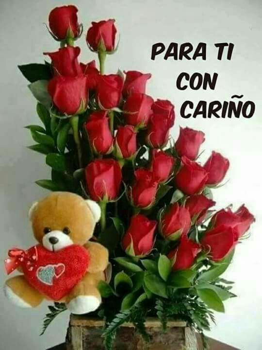 In spanish   Valentines flowers, Red roses wallpaper, Flower diy crafts