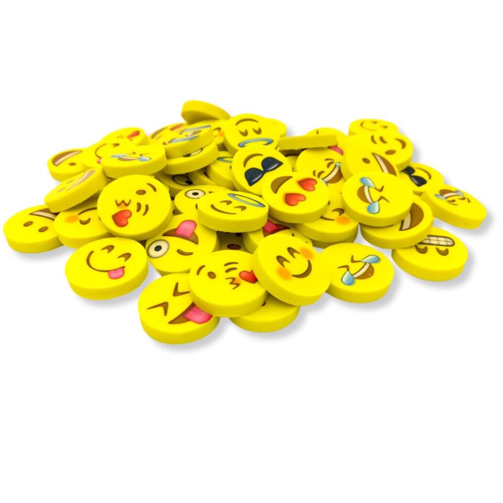 Pin by ROSE 🌹 on third grade Emoji erasers, Erasers