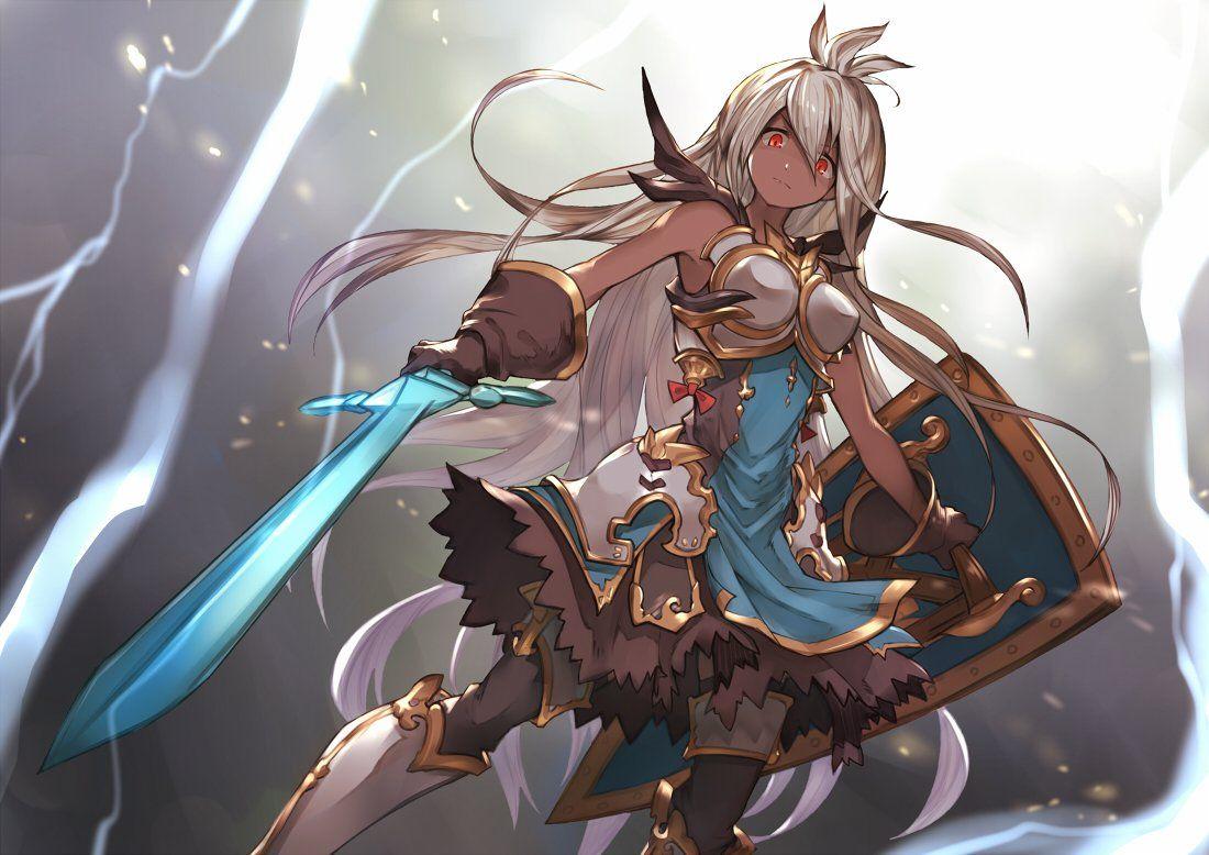 Granblue Fantasy Fantasy Character Design Character Art Anime Warrior