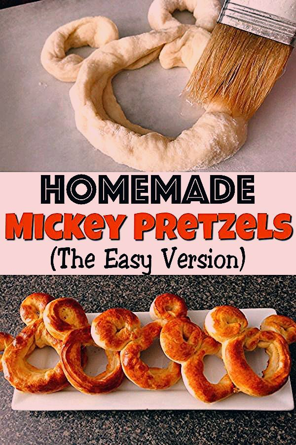 Photo of Mickey Pretzel Recipe (The Easy Way) – The Mommy Mouse Clubhouse