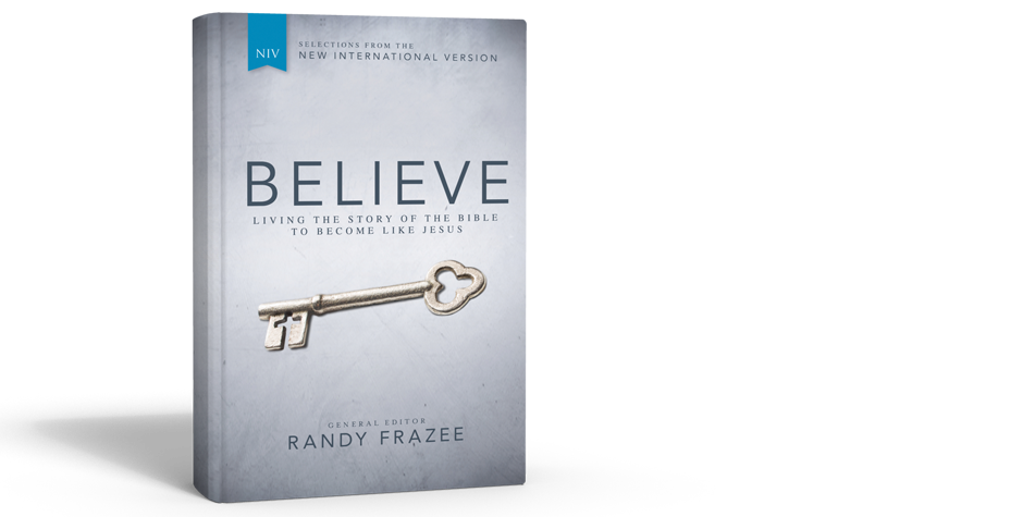 Believe the Story | Living the Story of the Bible to Become Like Jesus