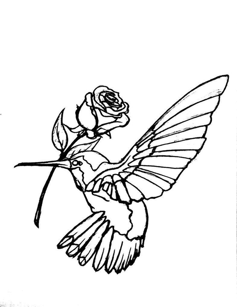 Hummingbird Flower Tattoo Hummingbird tattoo