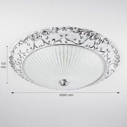 Deckenleuchte Ilse Silber Ø36cm in 2018 Wohnen