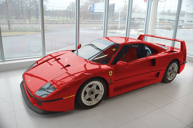 Boch Ferrari F40 by Griffin Digital Image, via Flickr