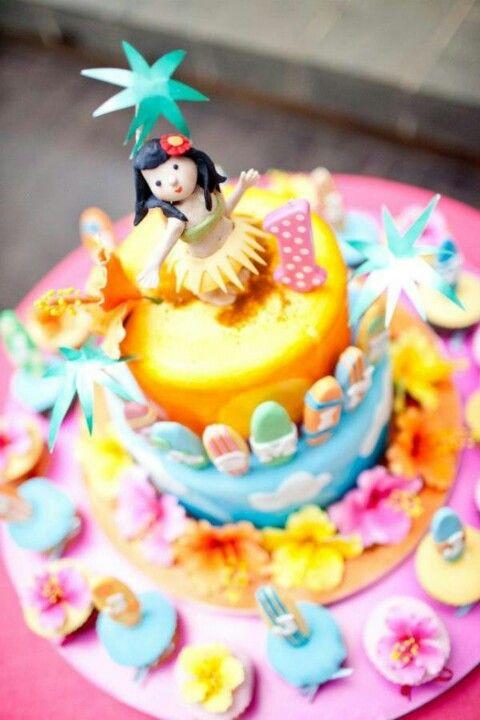 Hula Girl Cake Birthday Ideas Pinterest Hula Girl Cakes Hula