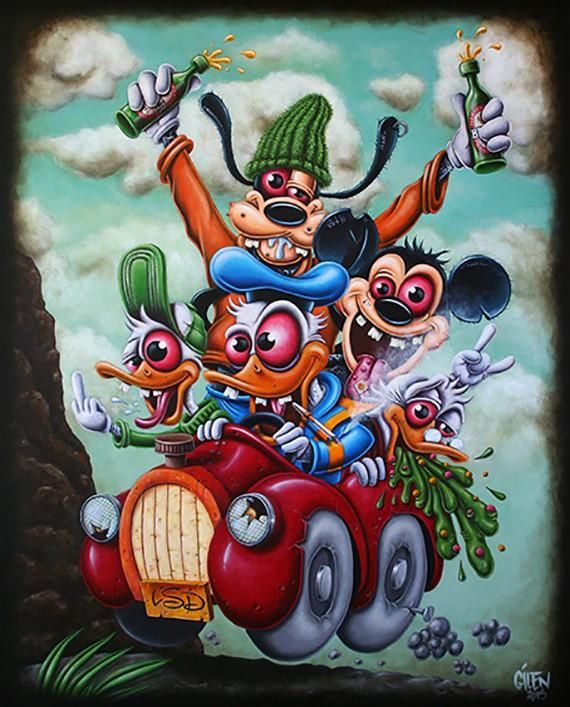 Donald mickey dingo pixou et loulou dans 15 personnages - Personnage disney dessin ...