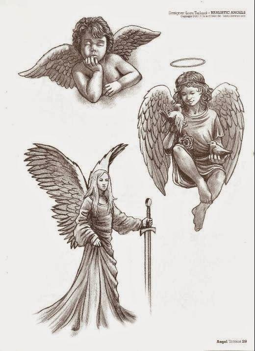 Angeles Ideas Y Disenos El Angel Como Figura Espiritual En Los Tatuajes Esta Presente Desde Si Tatuajes De Querubin Tatuaje Angel Disenos De Tatuaje De Angel