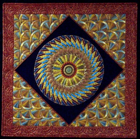 quilted mandala | Mandala | Pinterest : mandala quilts - Adamdwight.com