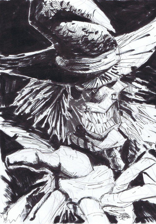 Stegman - Scarecrow by powerbomb1411