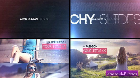 Glitch - Slideshow - After Effects Project (Videohive)