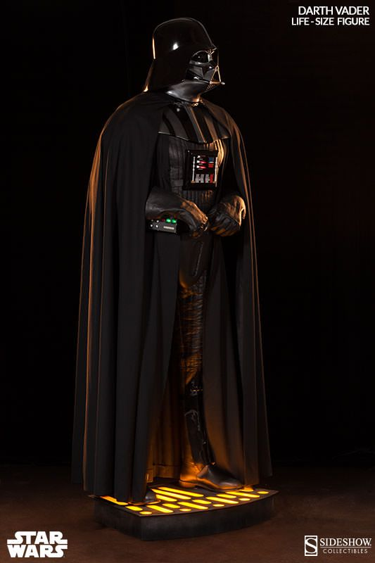 Star Wars Darth Vader Life Size Figure By Sideshow Collectib Darth Vader Star Wars Darth Vader Darth Vader Statue