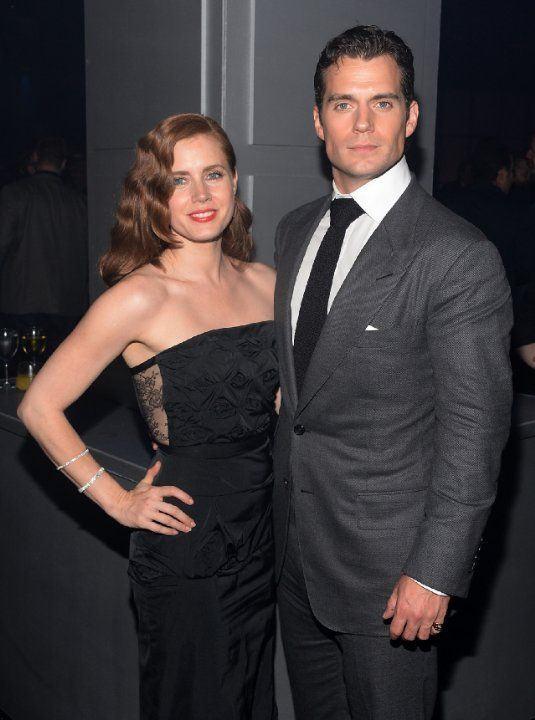 Amy Adams and Henry Cavill at event of Man of Steel (2013)