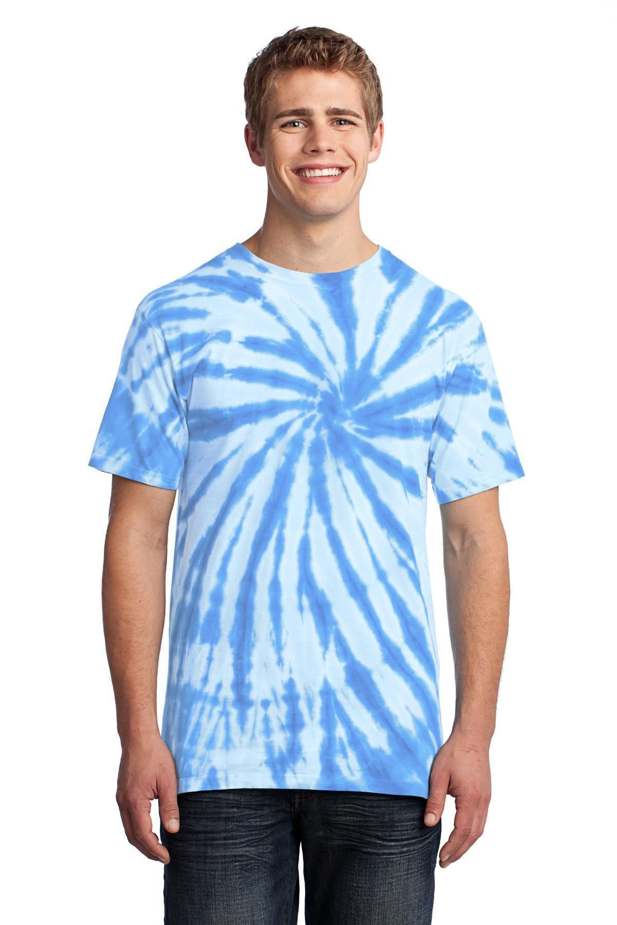 03cd3575427 Port   Company - Tie-Dye Tee PC147 Light Blue