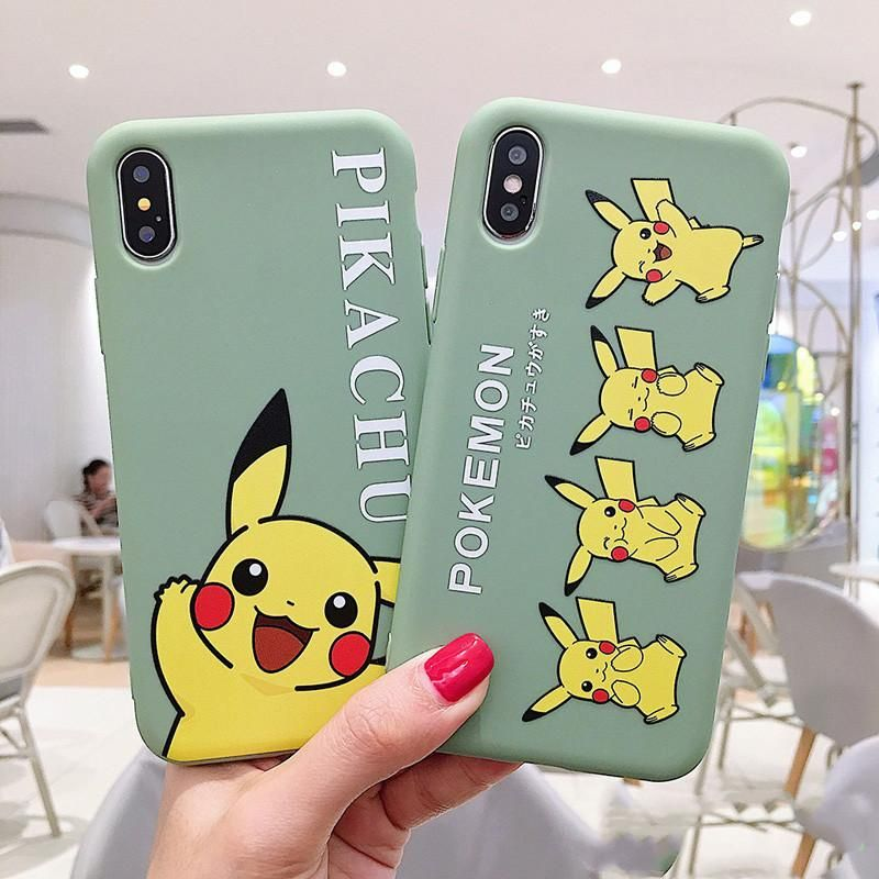 Green pokemon phone case for iphone 66s6plus77plus8
