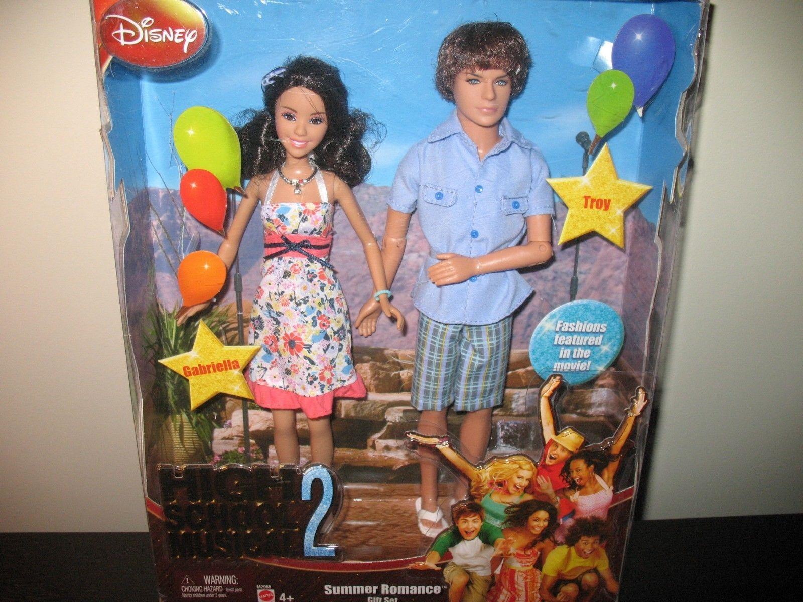 High school musical barbie dolls high school musical 2 troy gabriella