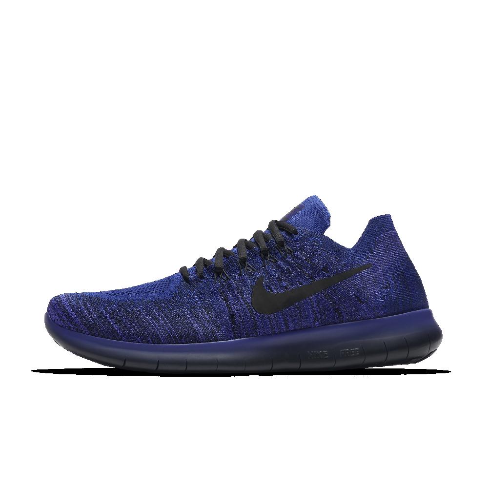 caf6e96cbcd2 Nike Free RN Flyknit 2017 Men s Running Shoe Size 10.5 (Blue ...