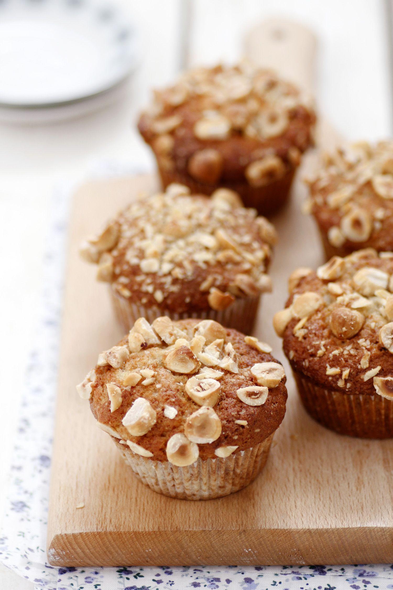 Nutella Filled Banana Muffins Recipe Nutella Recipes Pinterest