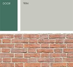 Image Result For Best Trim Color Pink Brick Front Door Paint Colors Exterior