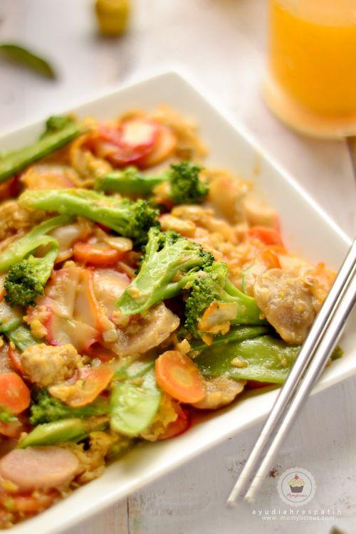 Seblak Sayuran Resep Masakan Indonesia Makanan Dan Minuman Memasak