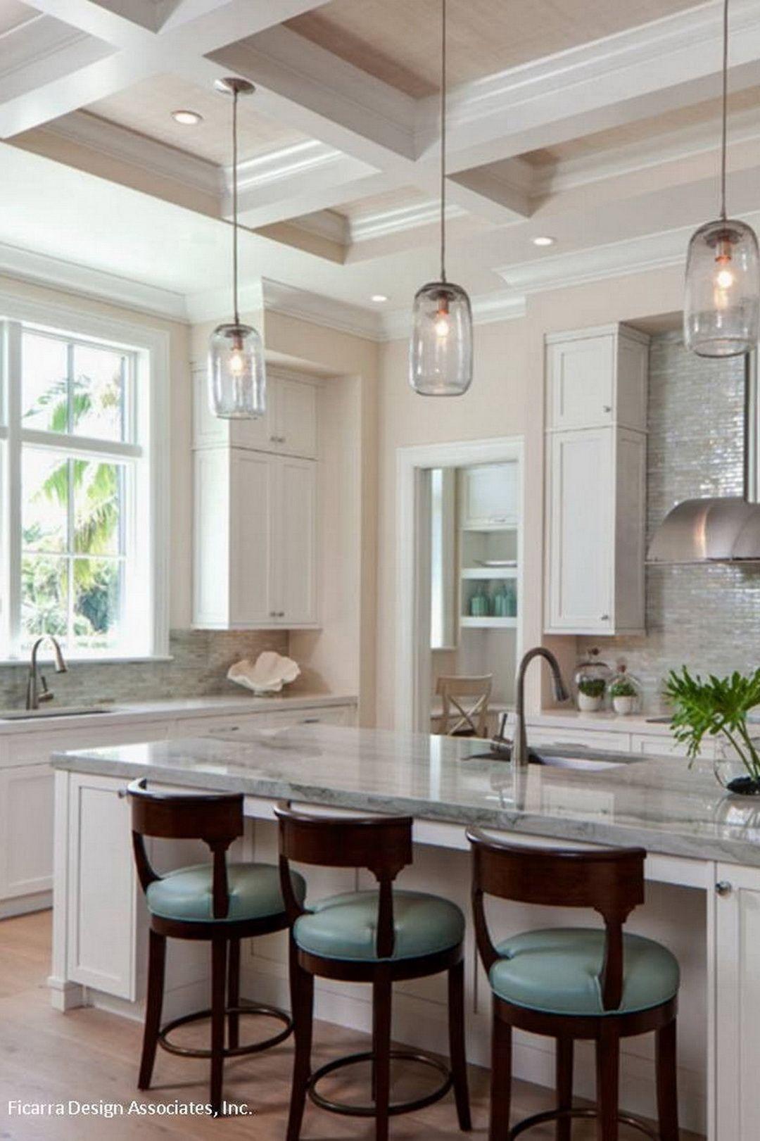 coastal kitchen Ficarra Design Associates Transitional