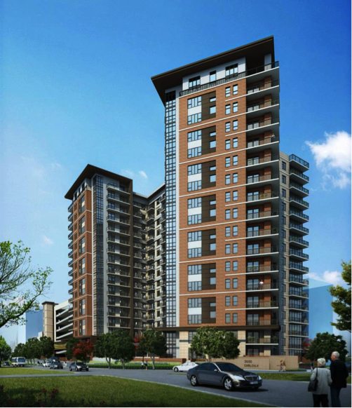 The Taylor Apartments In Uptown Dallas