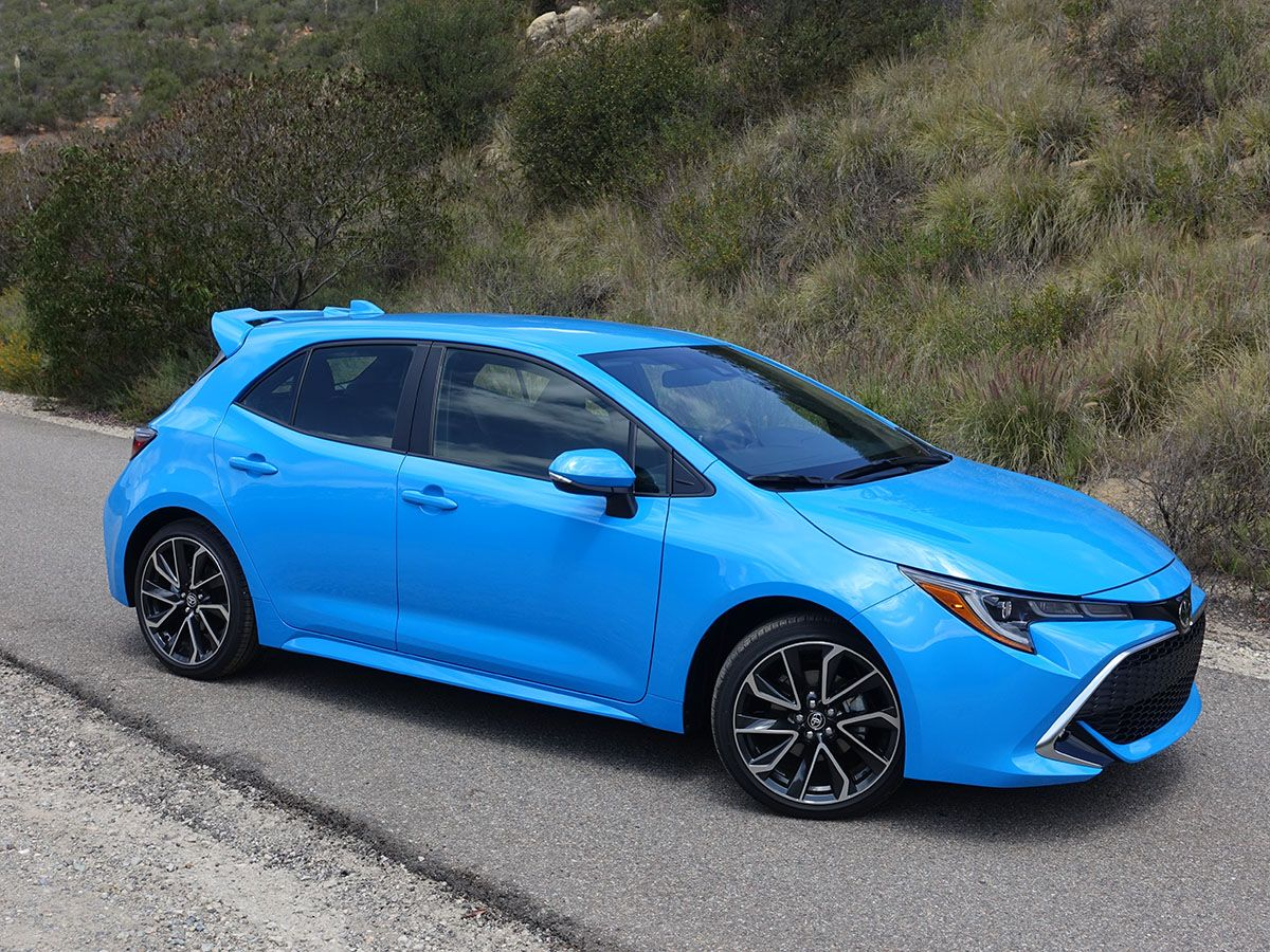 2019 Toyota Corolla Hatchback First Review   Toyota ...