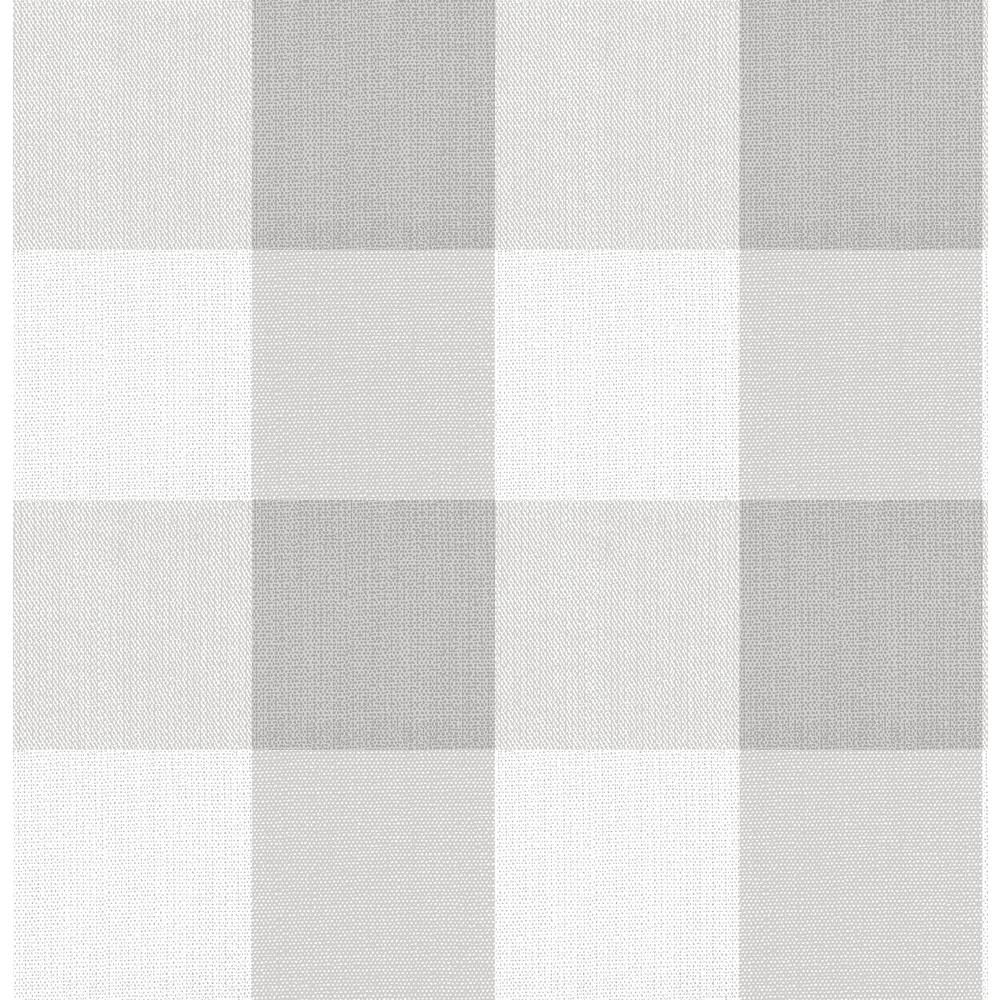 Nuwallpaper Buffalo Plaid Grey Grey Vinyl Strippable Roll Covers 30 75 Sq Ft Nu3671 The Home Depot In 2021 Grey Wallpaper Iphone Plaid Wallpaper Grey Plaid Wallpaper