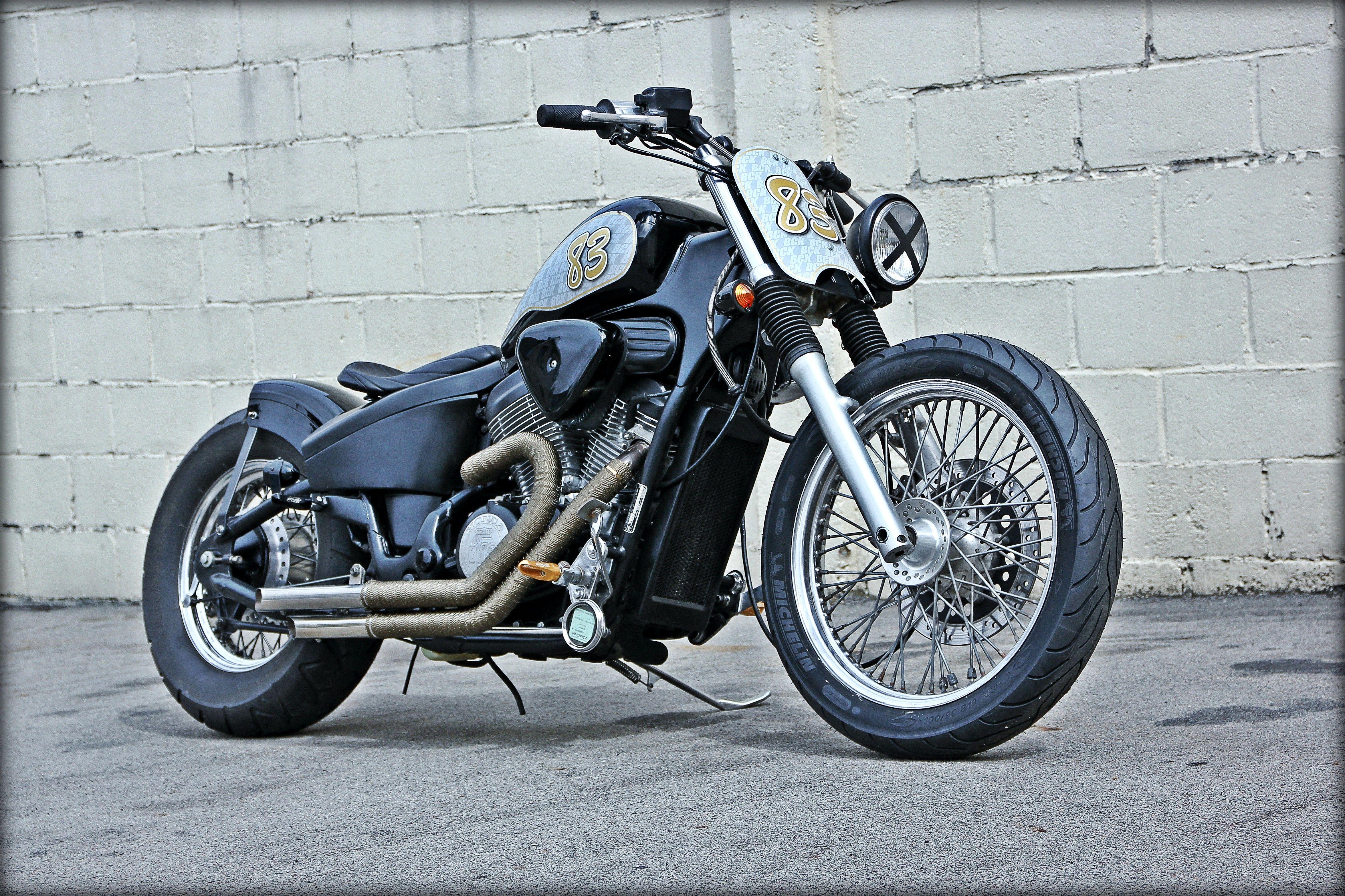 Honda shadow vt 600 bobber chopper honda vt 600 c shadow choppers sciox Images
