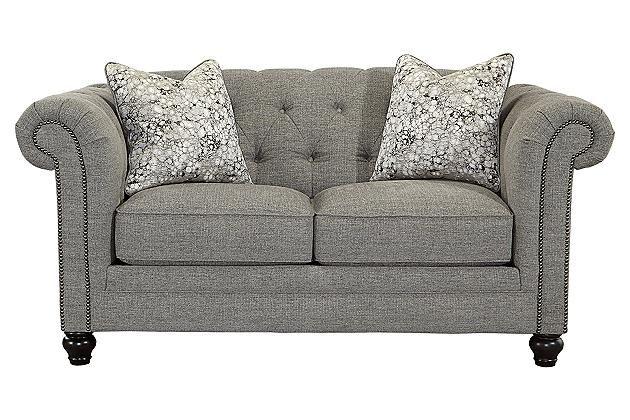 Best Charcoal Ardenboro Loveseat View 2 Love Seat Furniture 400 x 300