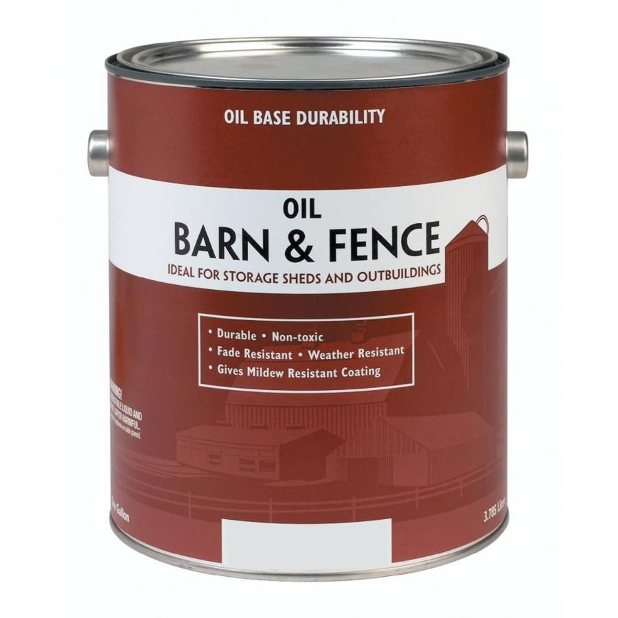 Valspar Barn Fence Red Gloss Oil Based Exterior Paint Actual