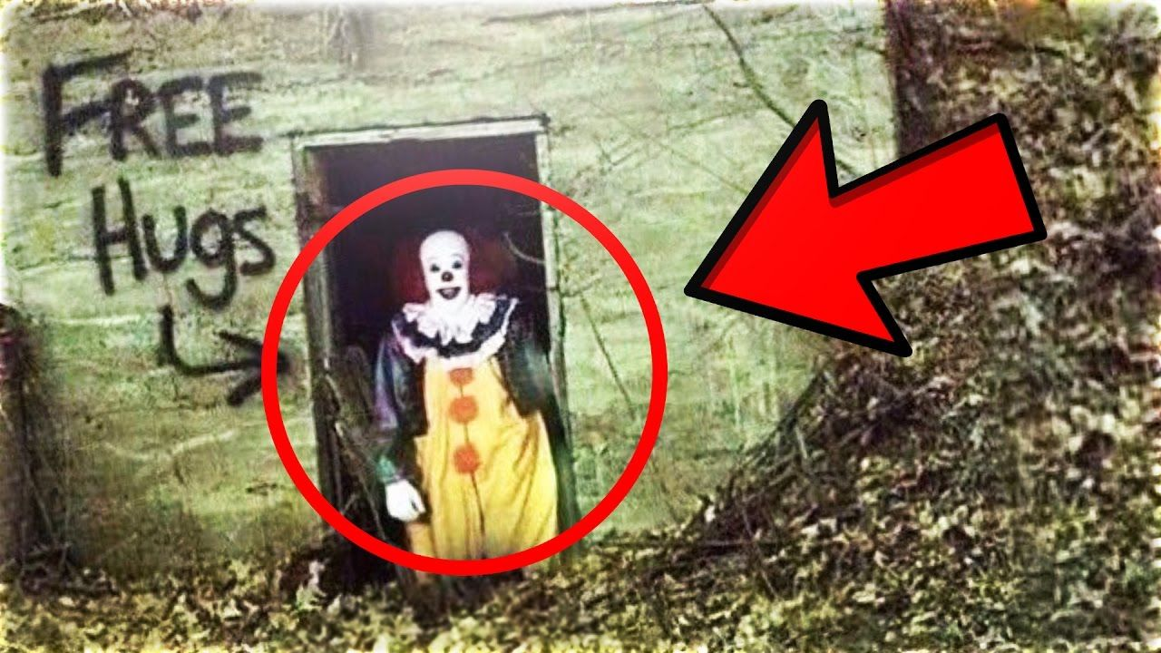 Top 15 SCARIEST Clown Sightings Caught on Youtube