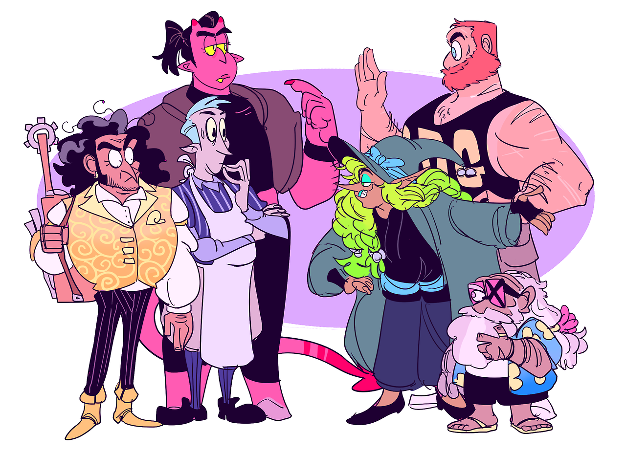 It S The Adventure Zone Nights Lenny Tom And Troth