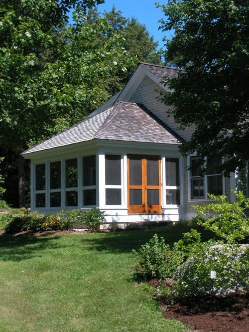 Design Ideas Pictures Remodel And Decor Hip Roof Design Porch Design Screened Porch Designs