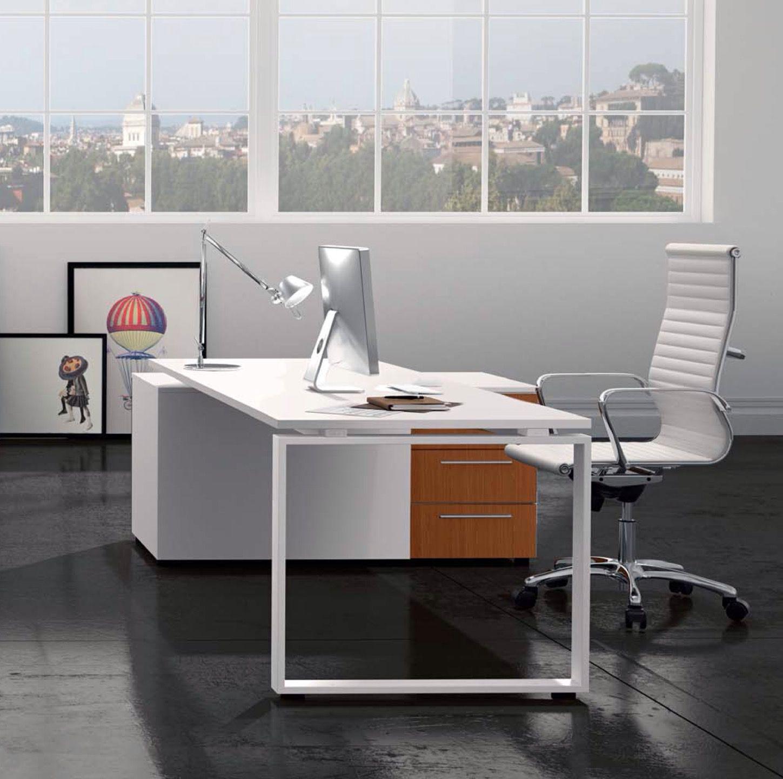 comp. LF10.A scrivania per ufficio operativo con