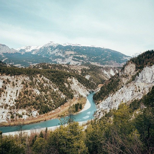 Ruinaulta, Switzerland, by felix_habitus