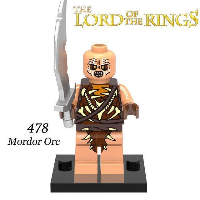 Building Blocks Hobbit Uruk Hai King Theoden Aragorn Wraith The Lord ...